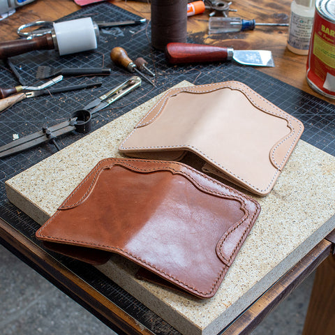 Leather Mid-Wallet Acrylic Template Set