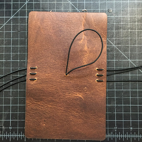 Midori-style Leather Notebook Cover Acrylic Template (Pocket size)