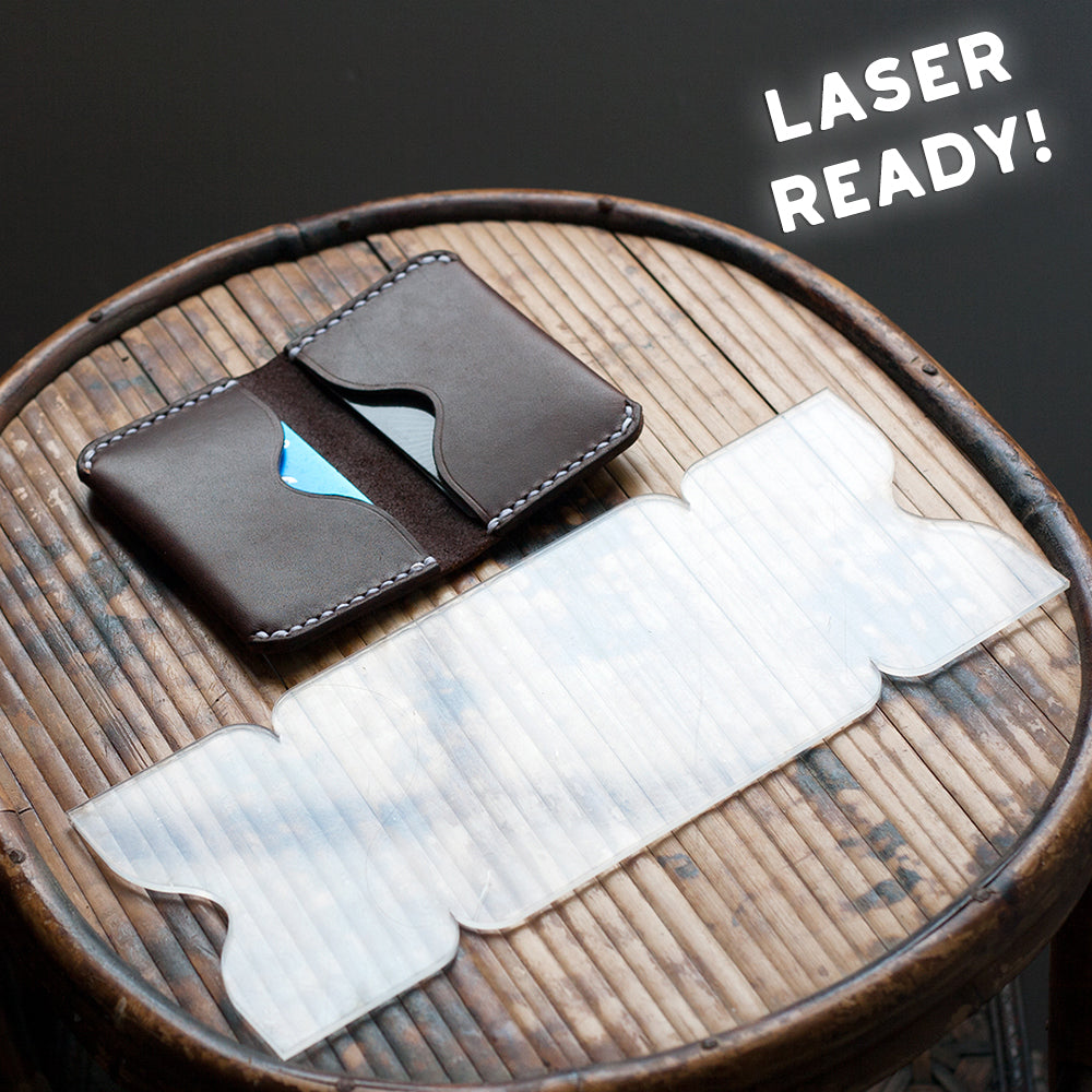 One Piece Folded Card Holder (Laser Ready Files)