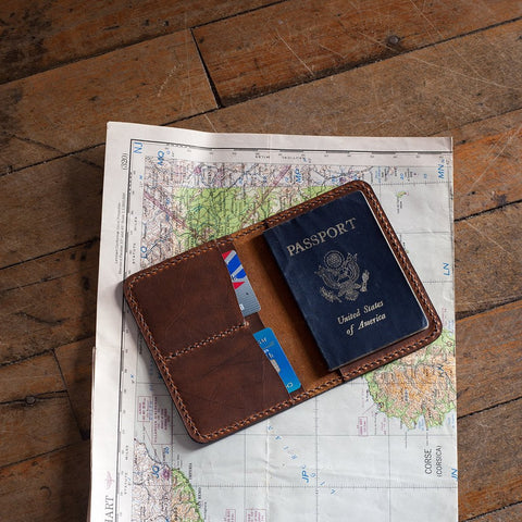 BUNDLE -- Passport Cover / Field Notes Case / Folded Card Holder