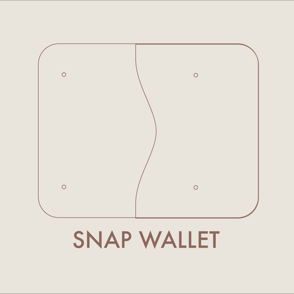 leather snap wallet digital template  8 5 x 11   u2013 makesupply