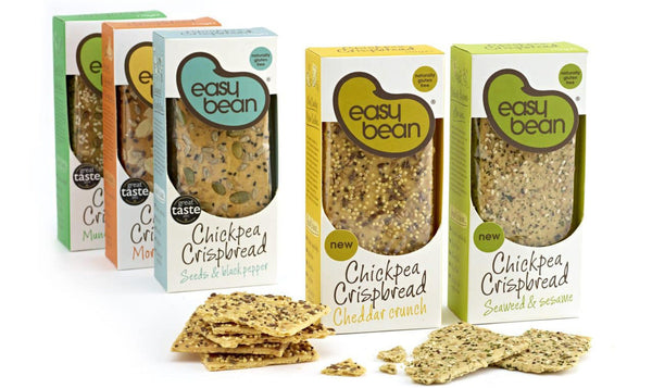 Easy Bean Chickpea Crispbreads Review
