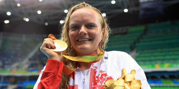 Susie Rodgers MBE Paralympic Swimmer