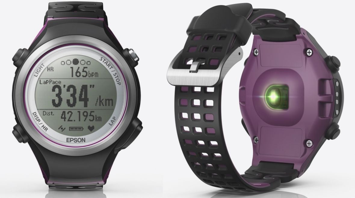 Epson Runsense Running Watch Sundried