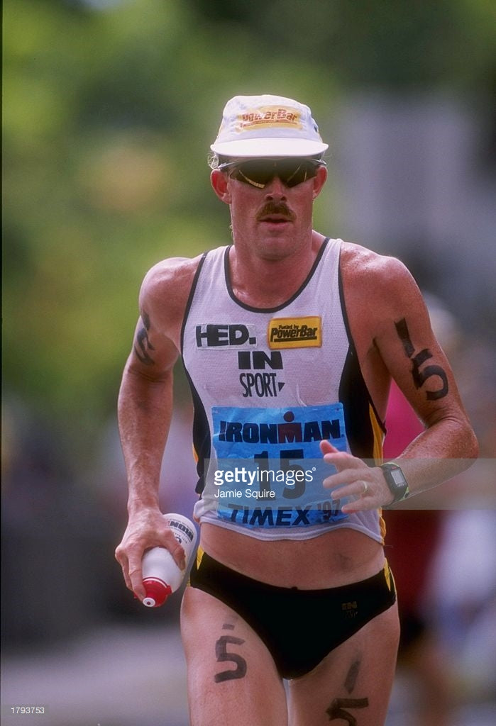Ken Glah Ironman Triathlete Kona