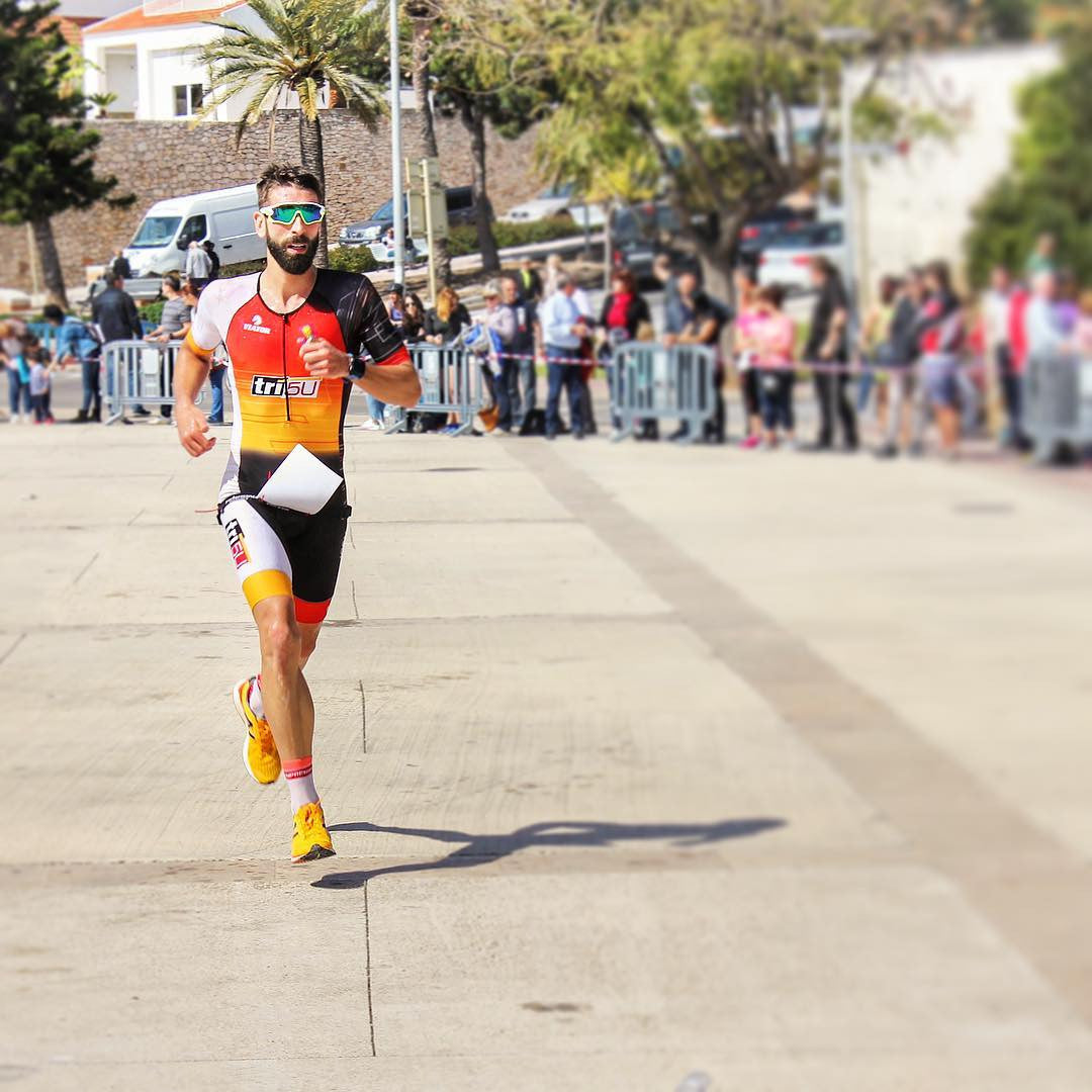 Jordi Martin Triathlete Ironman Running