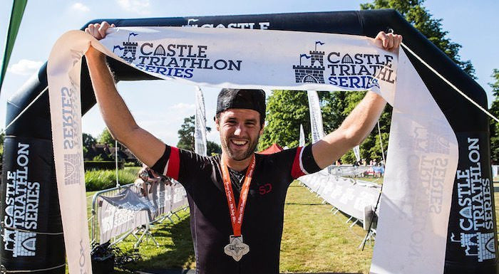 Matt Leeman Sundried Ambassador Winner Castle Triathlon Series Bastion Full Iron Distance