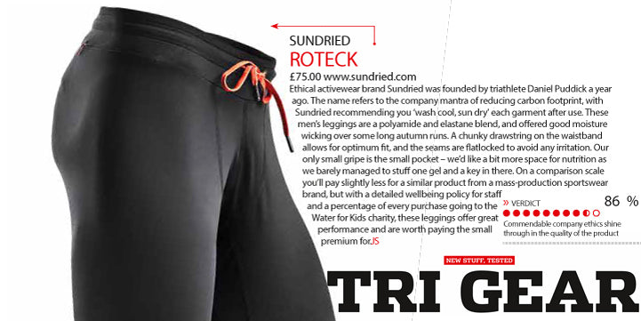Triathlon 220 Review of Sundried Leggings