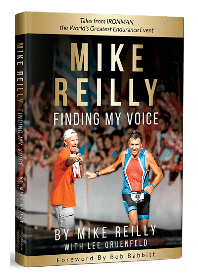 Mike Reilly Finding My Voice book