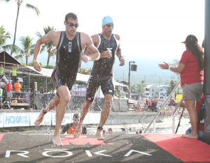 Reece Barclay Running Finisher Triathlon