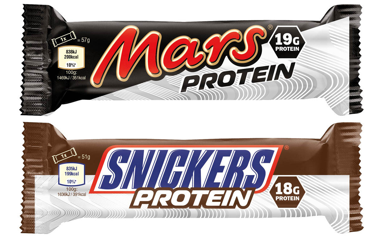 Snickers Mars Protein Bars Healthy Food
