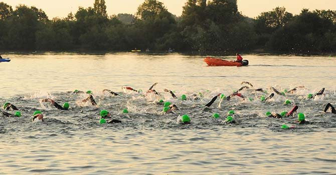 The Cotswolds Triathlon Swimming Open Water