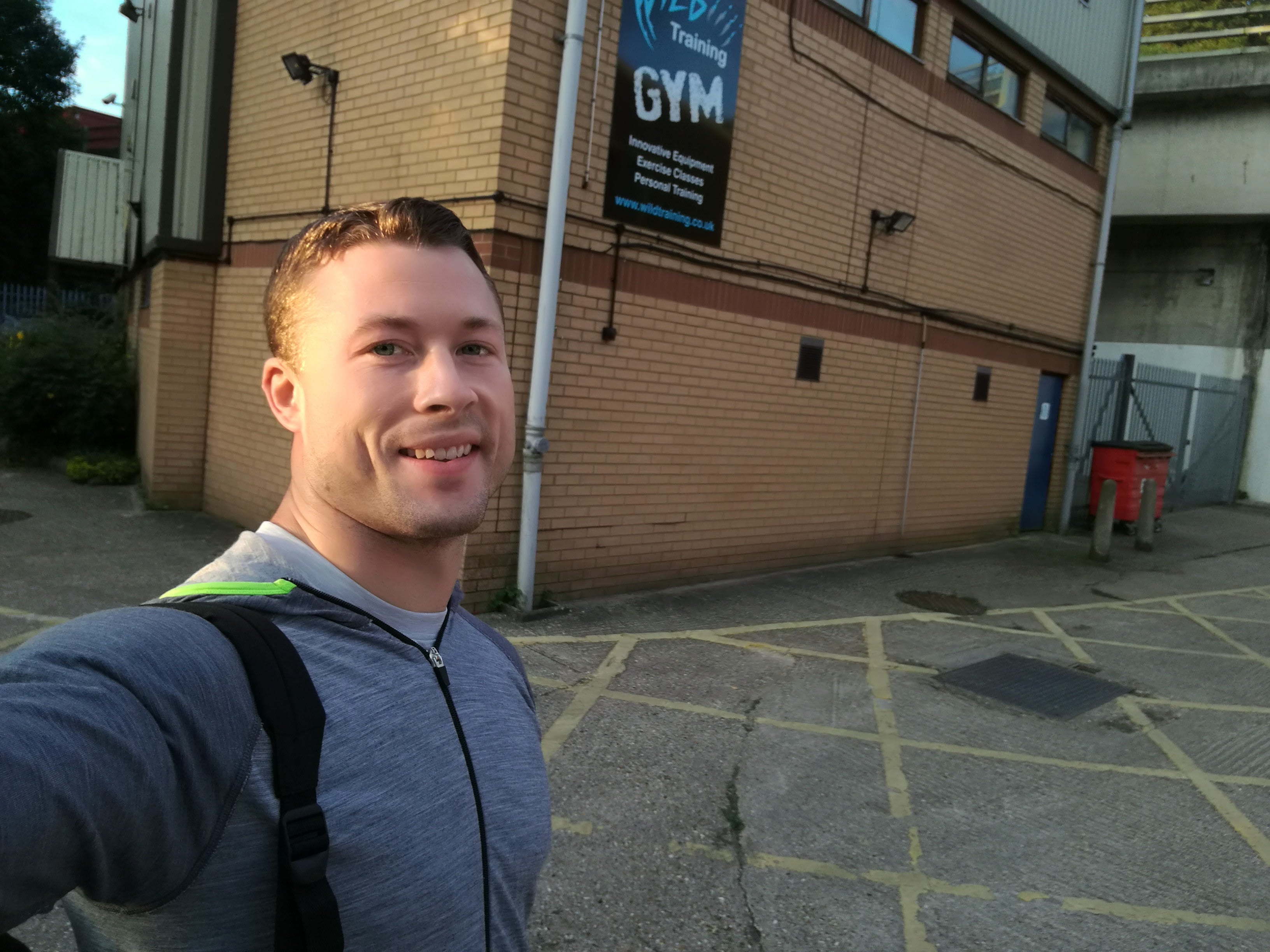 personal trainer Wild Training James Griffiths