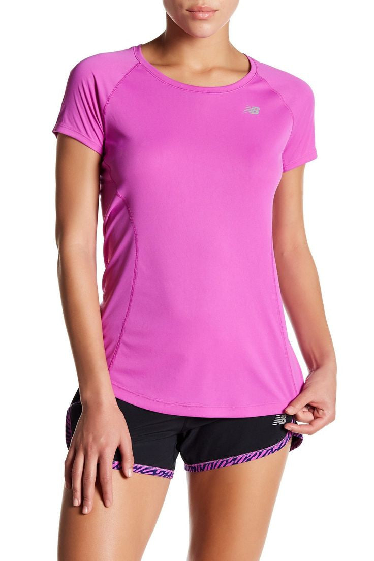 New Balance Ice Short Sleeved Top Sundried Review