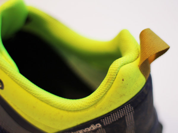 Loop on the heel to help put on your trainers