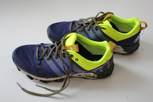 Adidas Kanadia 7 TR Shoes Indigo/White/Yellow