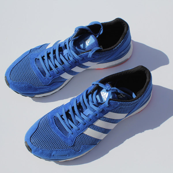 Adidas Adizero Adios 3 Running Shoes Review </p>                     </div> 		  <!--bof Product URL --> 										<!--eof Product URL --> 					<!--bof Quantity Discounts table --> 											<!--eof Quantity Discounts table --> 				</div> 				                       			</dd> 						<dt class=