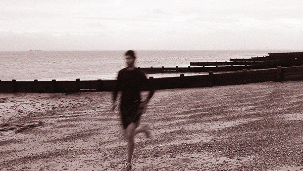 Outdoor Running on the beach
