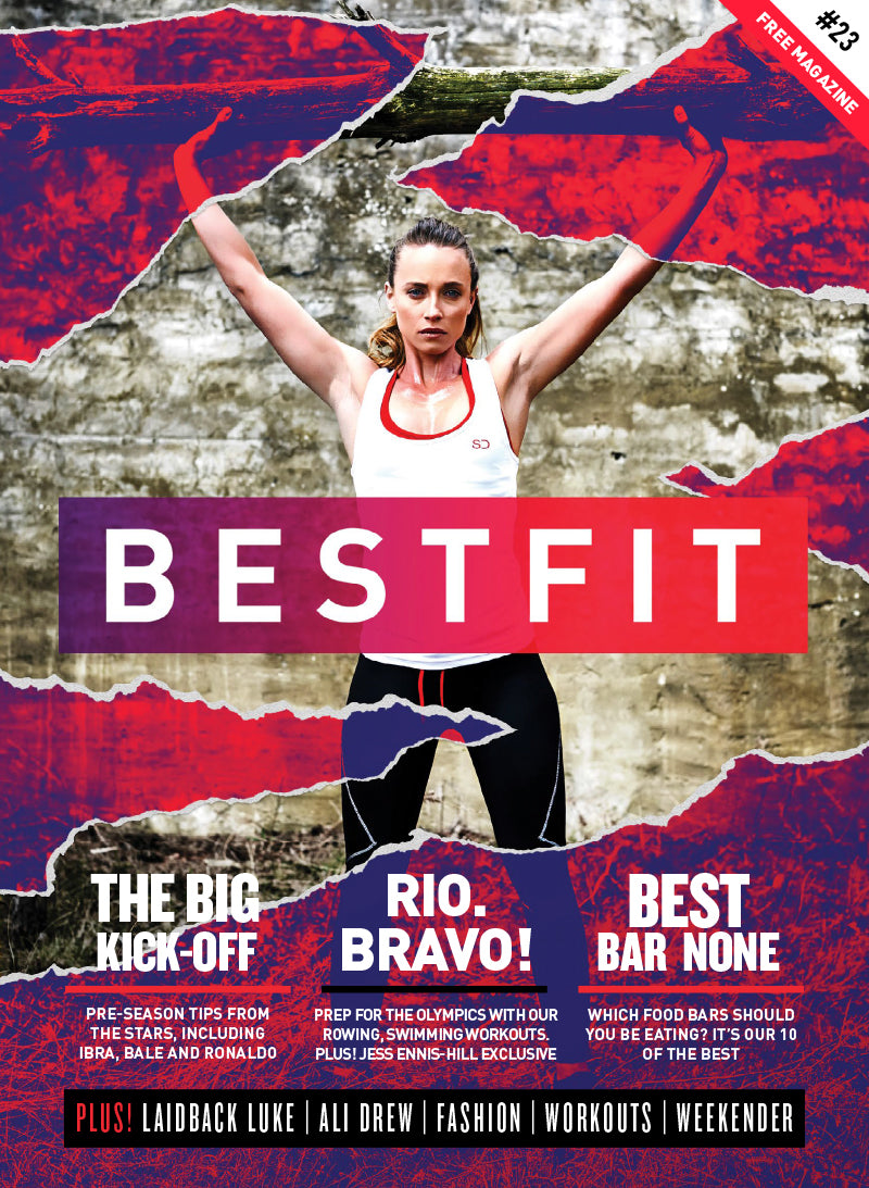 Bestfit Magazine Cover with Sophie Grace Holmes