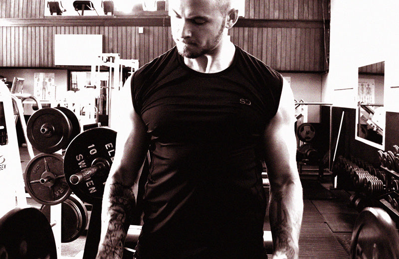 Brad Berkley in the Gym Personal Trainer