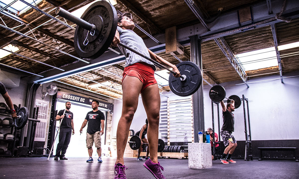 Crossfit Box Open Workout WOD Lunges