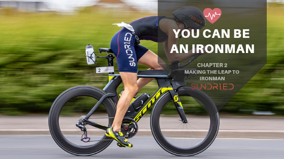 YOU CAN BE AN IRONMAN CYCLING TRIATHLON SUNDRIED