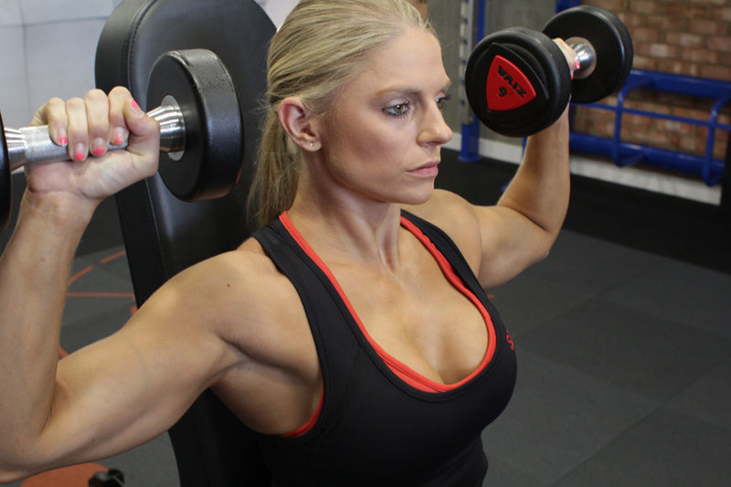 Claire Aves Shoulder Press
