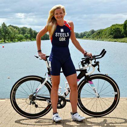 Claire Steels Team GB