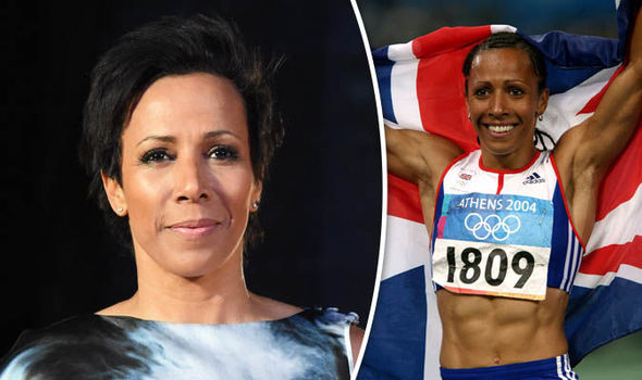 Dame Kelly Holmes athletics