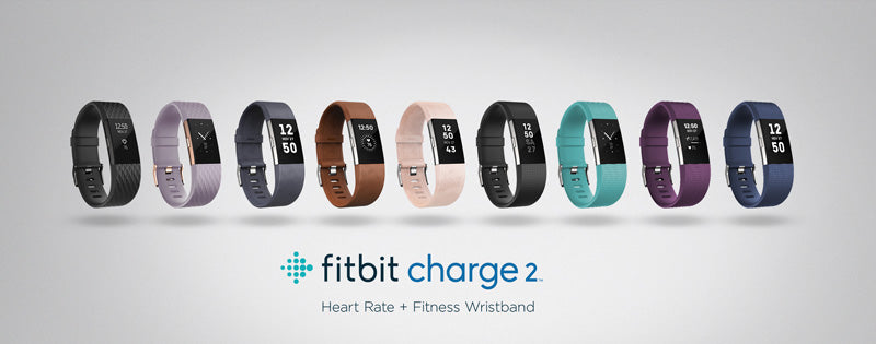 Fitbit Charge 2 HR Colours