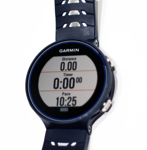 Garmin Forerunner 630 How the Screens Look