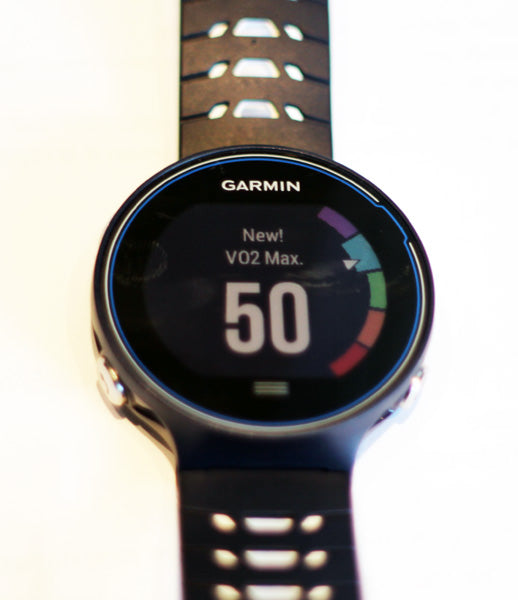 Garmin Forerunner 630 VO2 Max Post Run