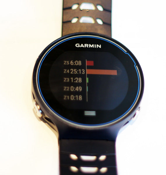 Garmin Forerunner 630 Intervals Post Run