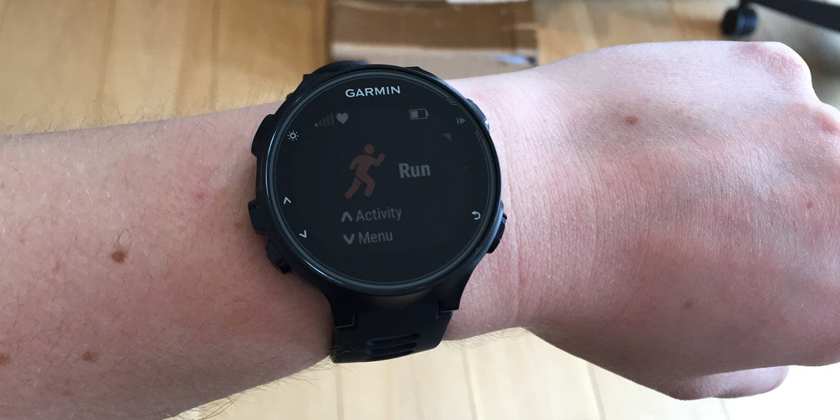Garmin Forerunner 735XT Triathlon Sports Watch Sundried