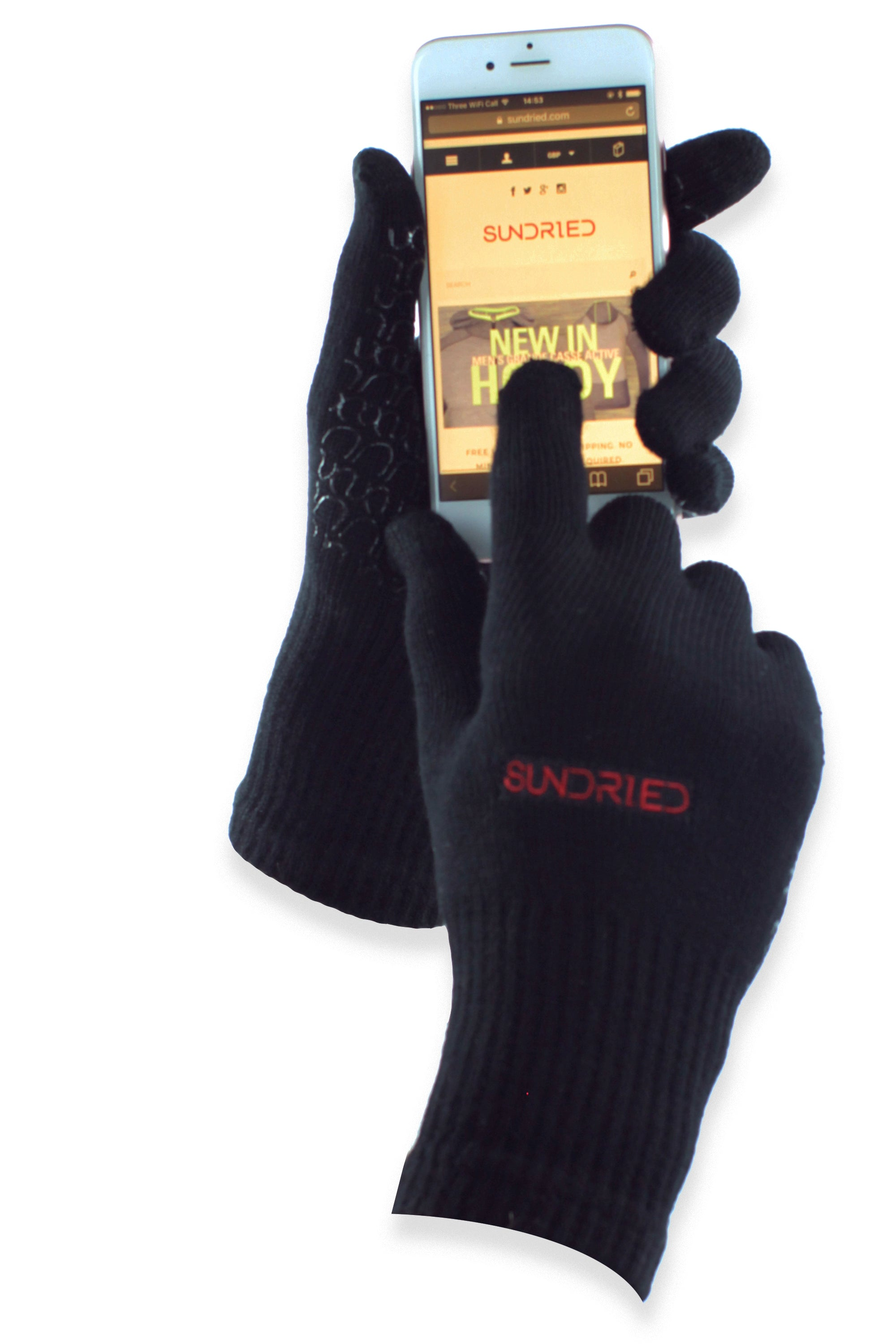 Sundried winter gloves bamboo recycled ethical