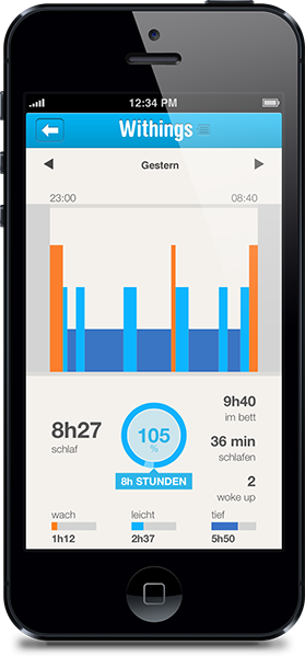 Withings Pulse Ox Ios APP