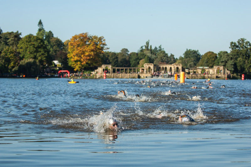 Hever castle triathlon swim
