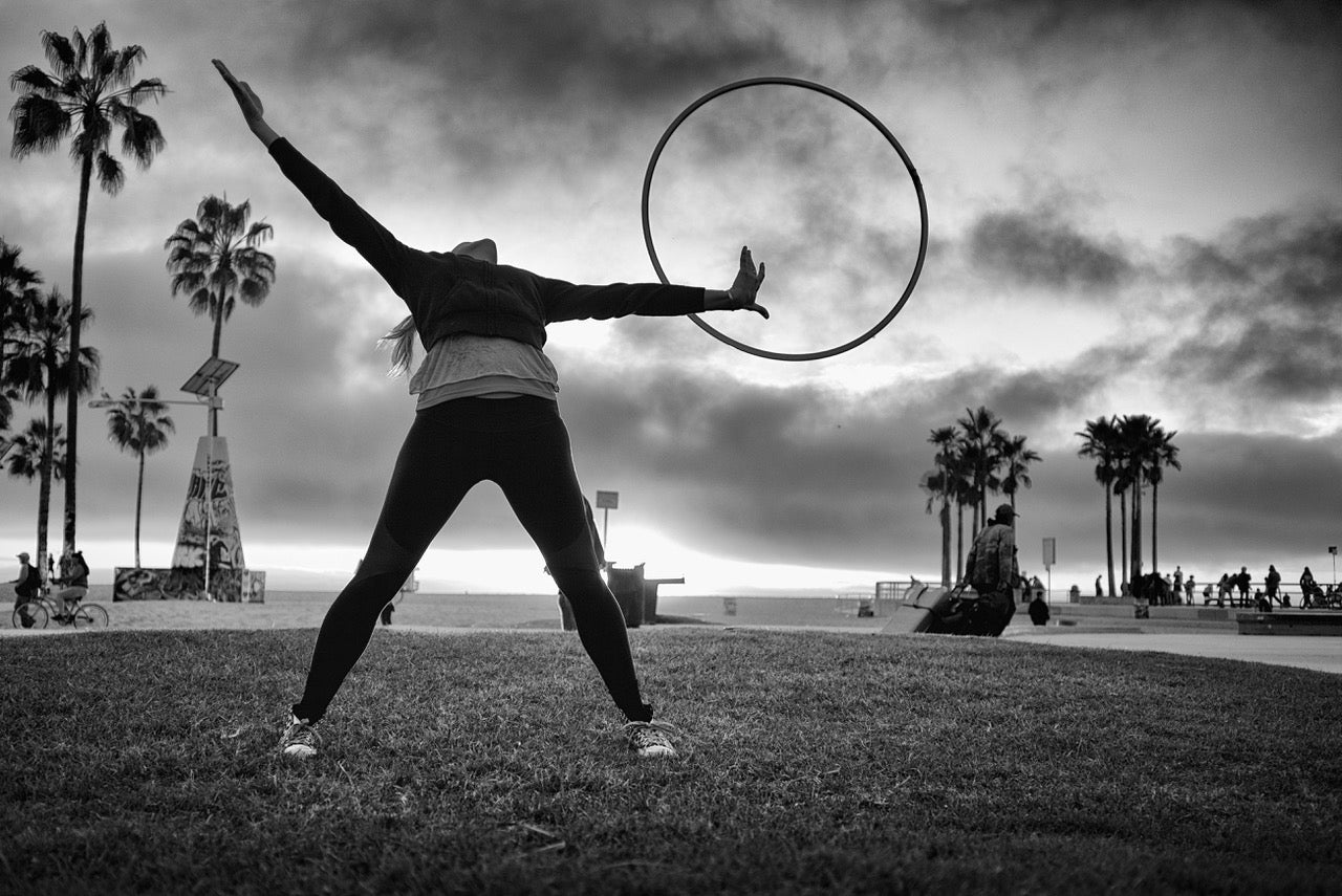 Hula hooping hoop hobby fun sport