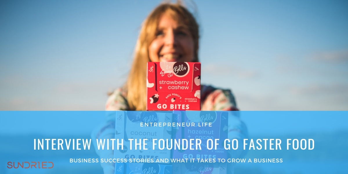 Sundried entrepreneur life interview with founder of go faster food