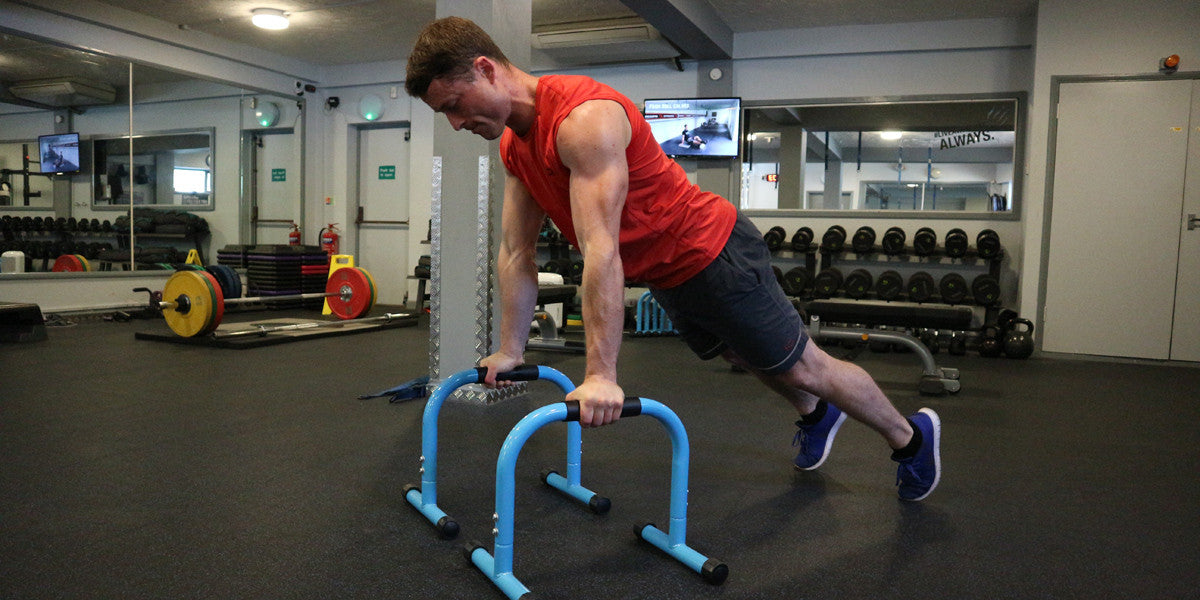 James Griffiths Strength Training Parallettes