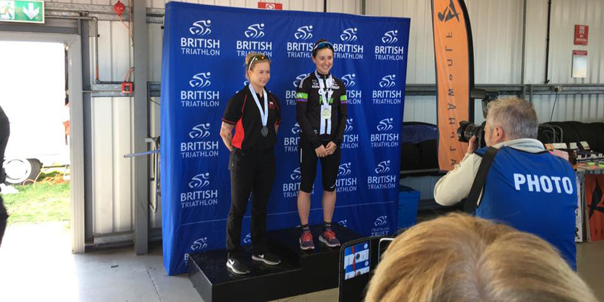 Laura Smith Gold Medal Winner Duathlon