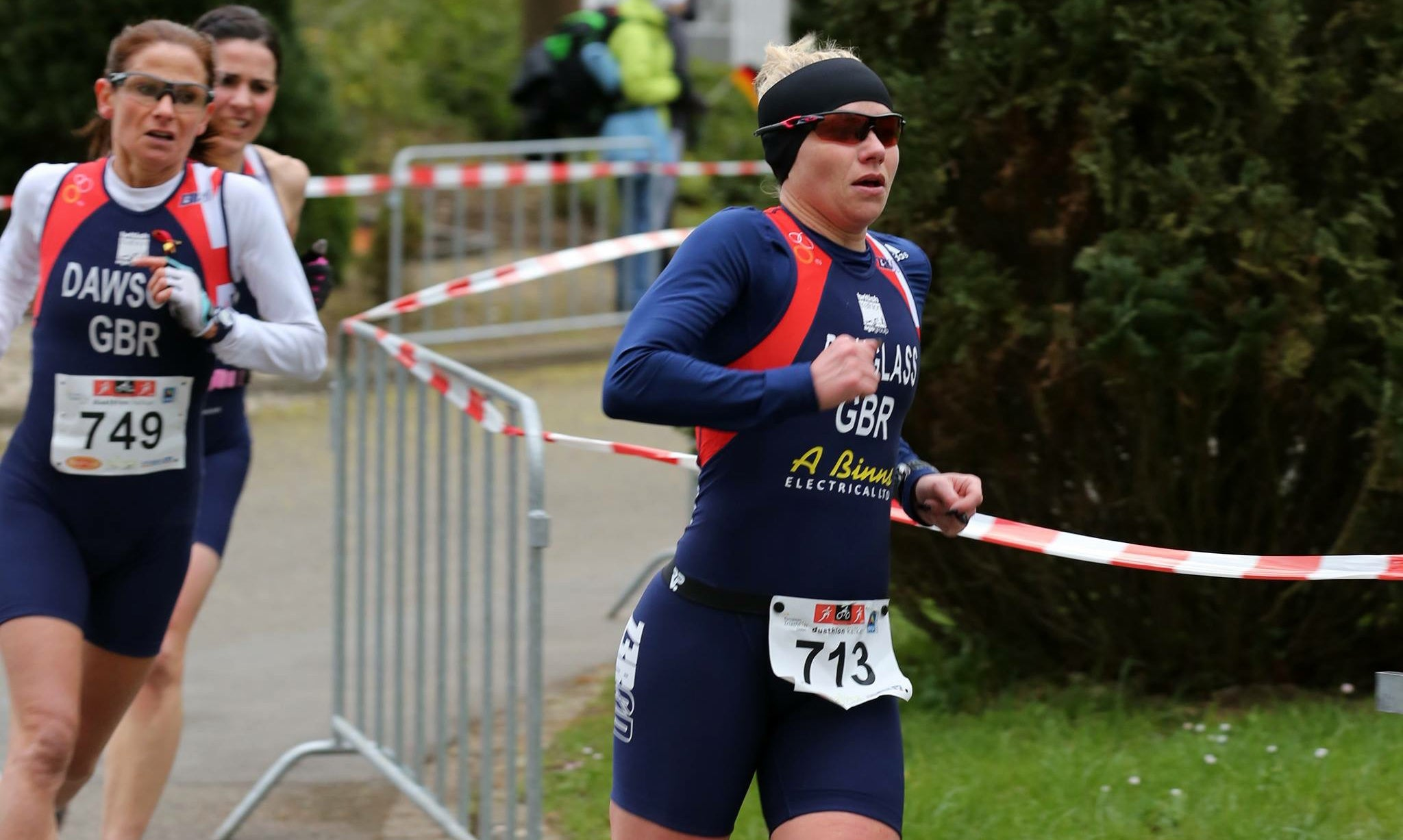 Louise Douglass GB Duathlete