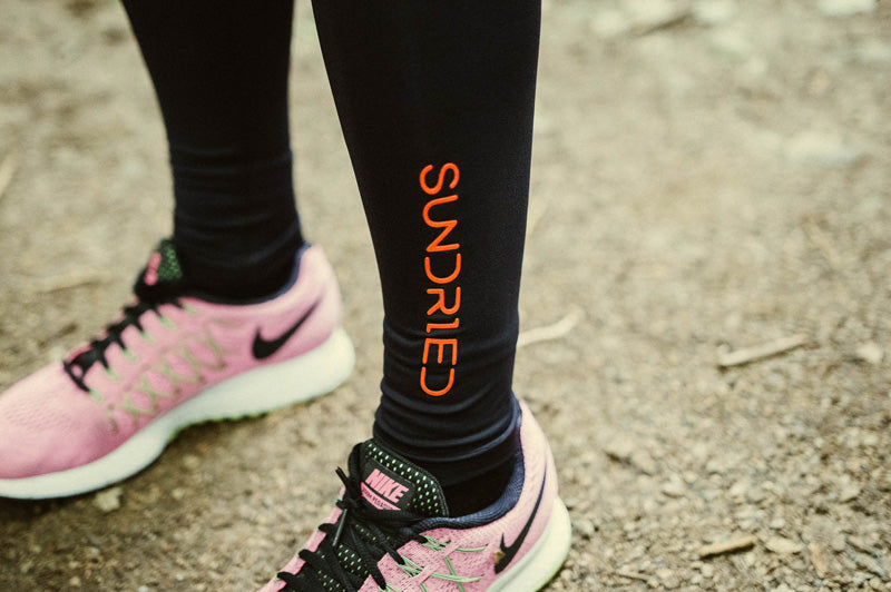 Sundried logo tights