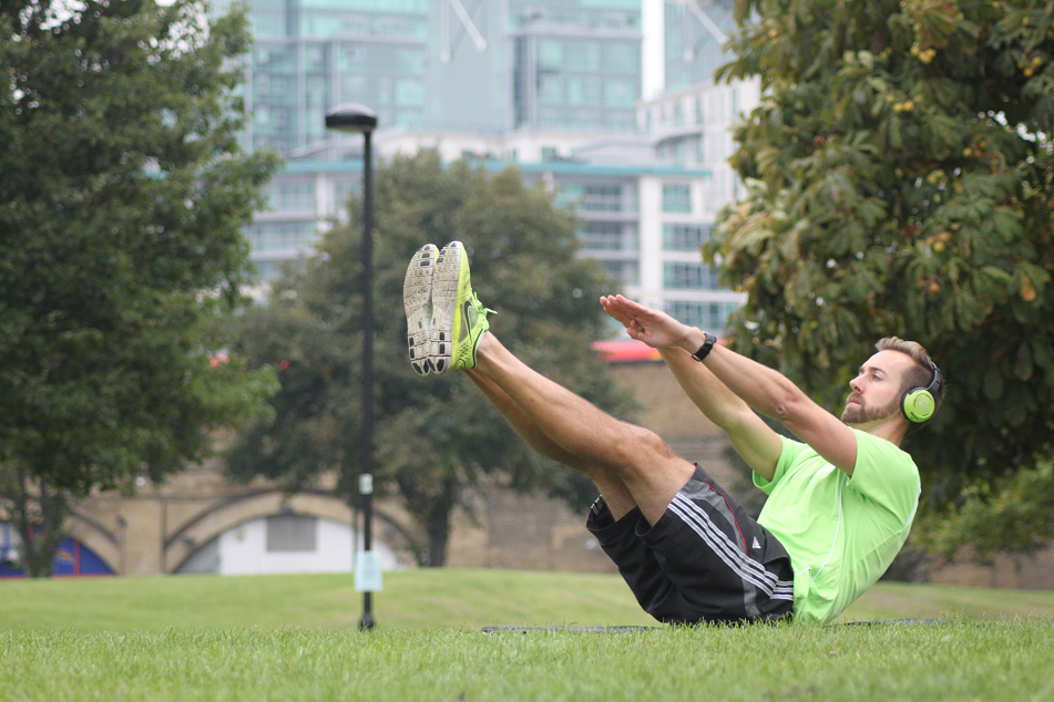 Matt Boyles Sundried Ambassador Wireless Fitness Bootcamp London