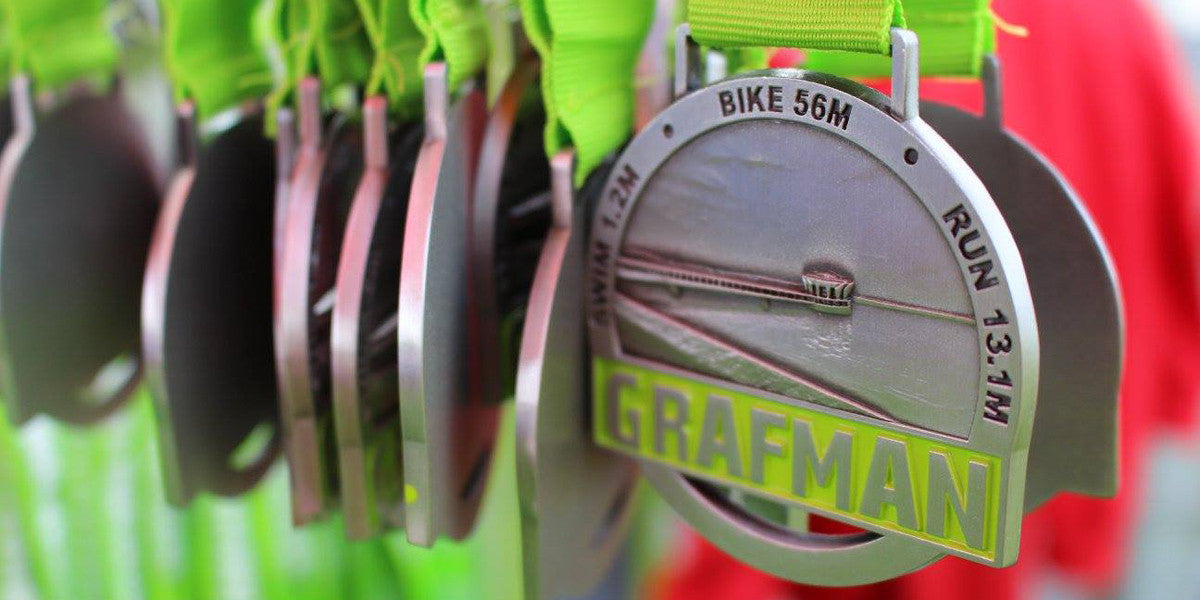 Grafman Middle Distance Half Ironman Triathlon Sundried