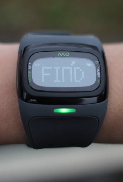 Mio Alpha 2 Searching for Heart Rate