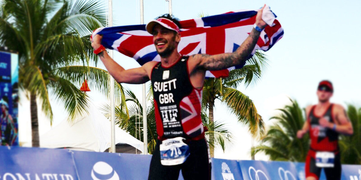 Paul Suett Team GB Triathlete Sundried