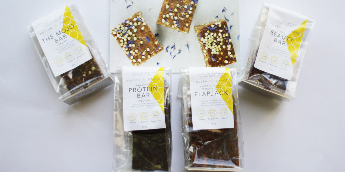 Pollen And Grace Raw Vegan Sweet Treats Snacks
