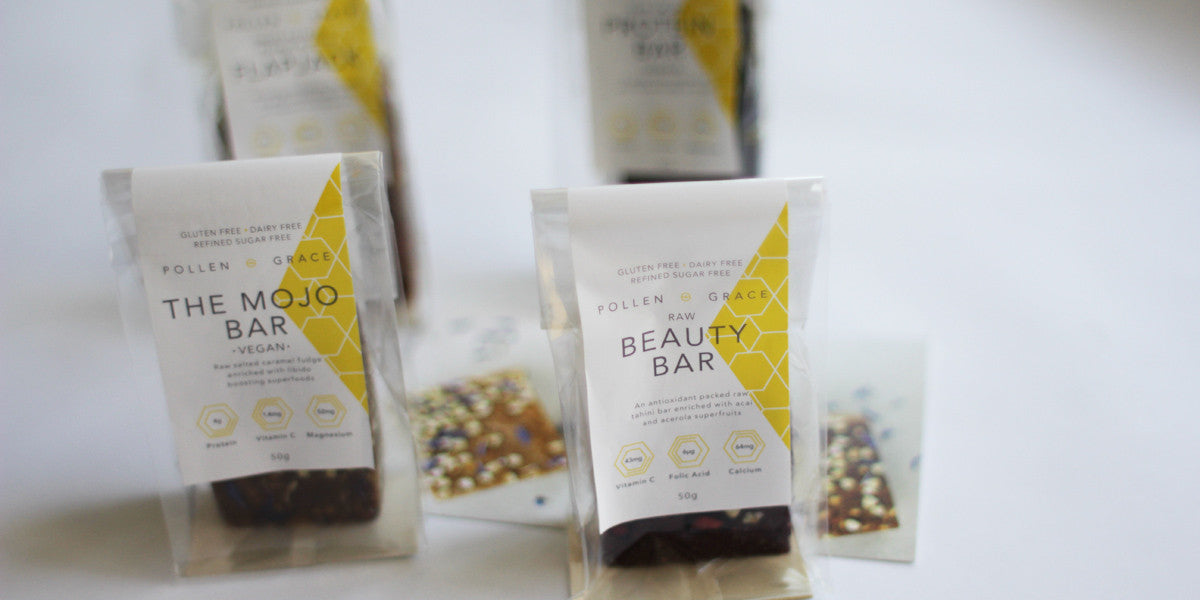 Pollen And Grace Raw Beauty Bar Antioxidents