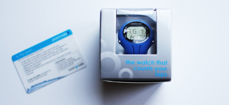 Boxed swimming watch